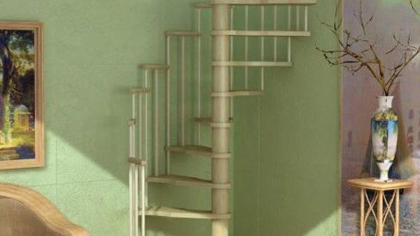 "Лестница винтовая ""MERCURE"" сосна"