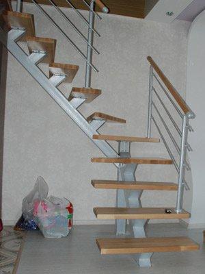 Крупноузловая лестница для самостоятельной сборки