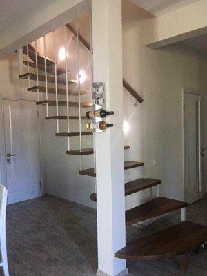 Консольная или подвесная лестница