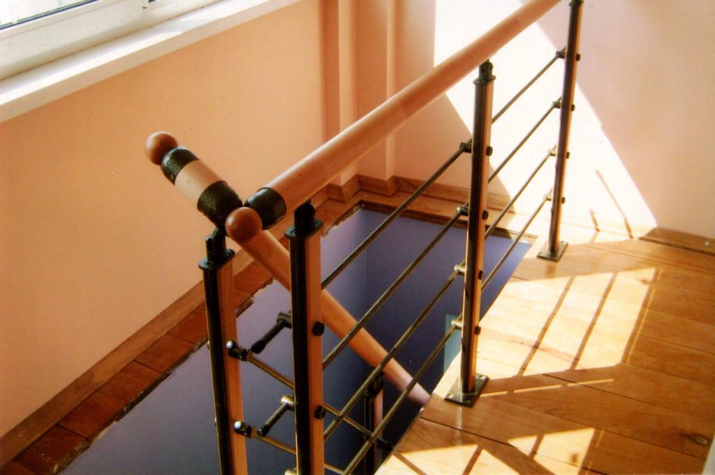 Баллюстрада модульной лестницы