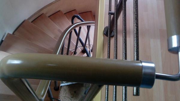 Модульная дуговая лестница
