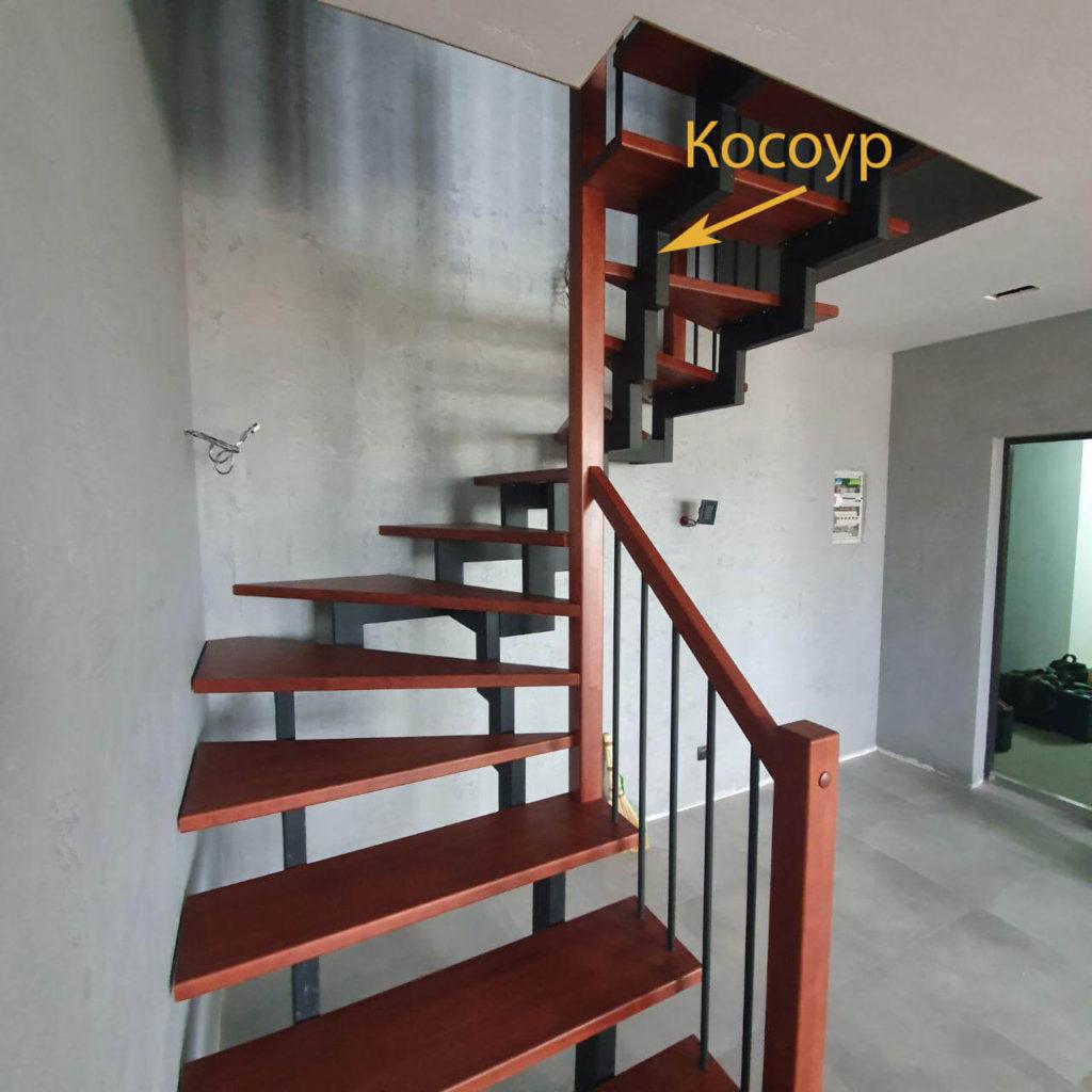 фото косоура лестницы