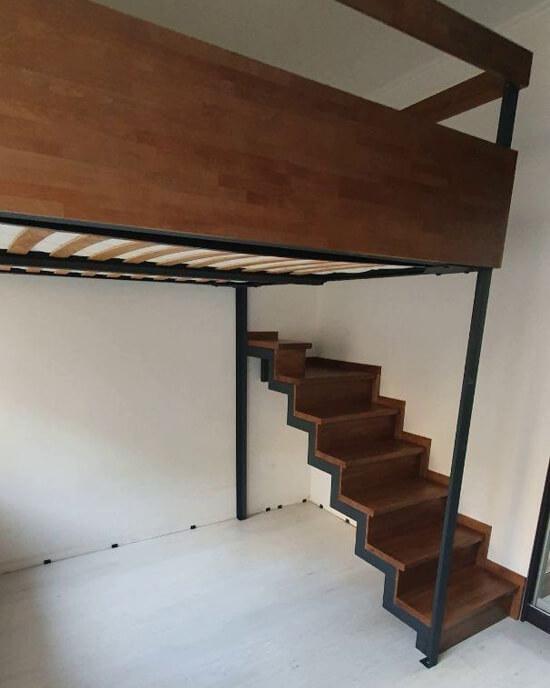 лестница на антресольный этаж