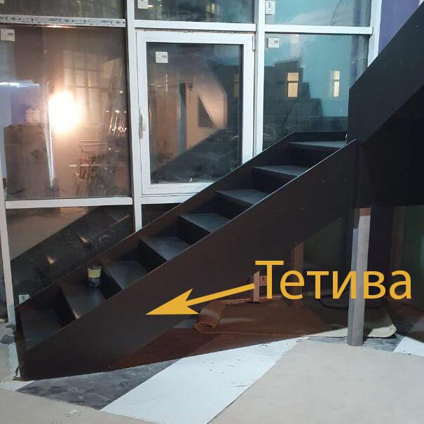 фото тетивы лестницы